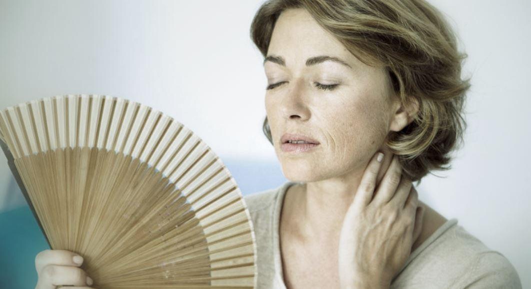 Menopause femme bouffee de chaleur