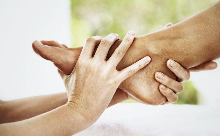 reflexologie massage des pieds
