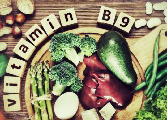 aliments contenant de la vitamine B9