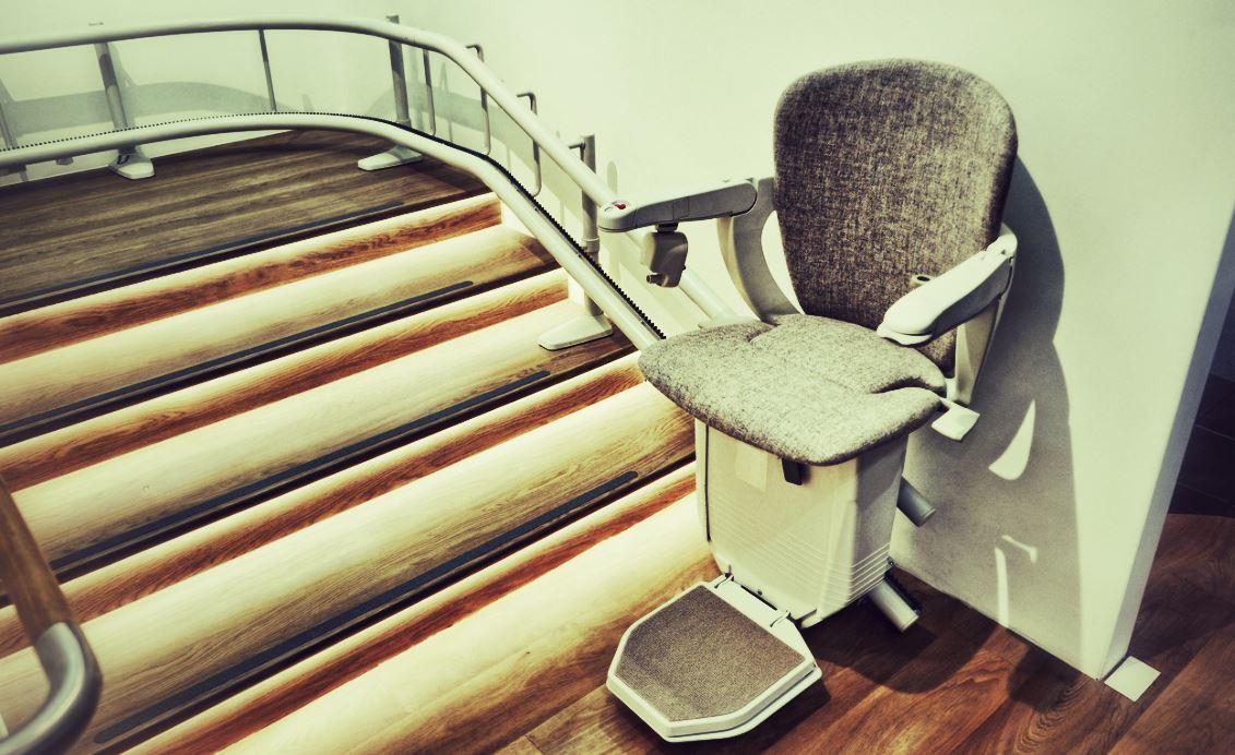modèle de monte escalier pour personne handicapée