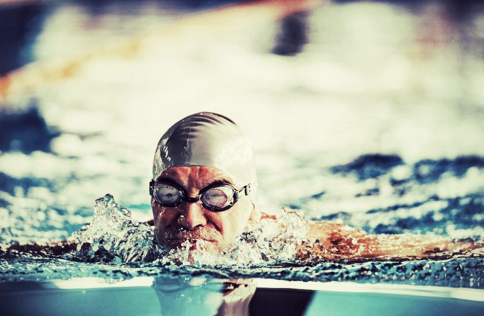 natation chez les seniors
