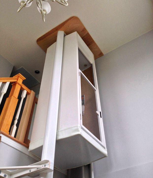 monte escalier mini ascenseur