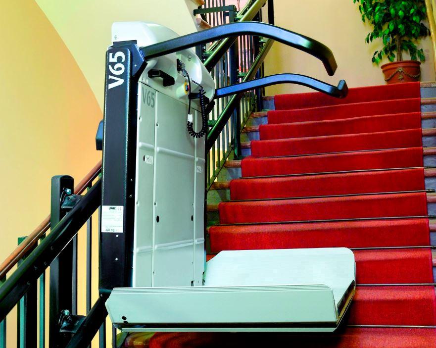 plateforme pour fauteuil roulant