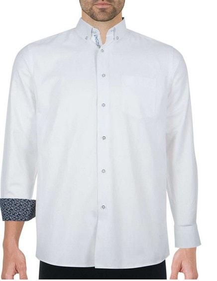 Chemise blanche fantaisie
