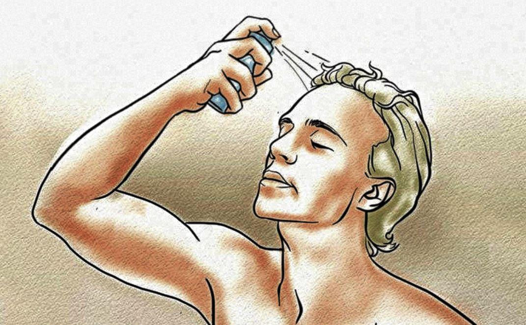 lotion anti chute de cheveux pour homme