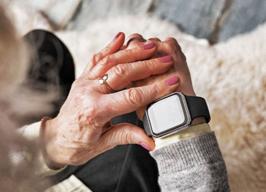 montre connectee seniors pour assistance