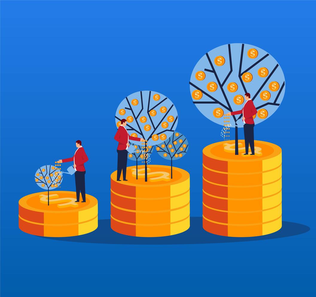 retraités sur les pièces d'or