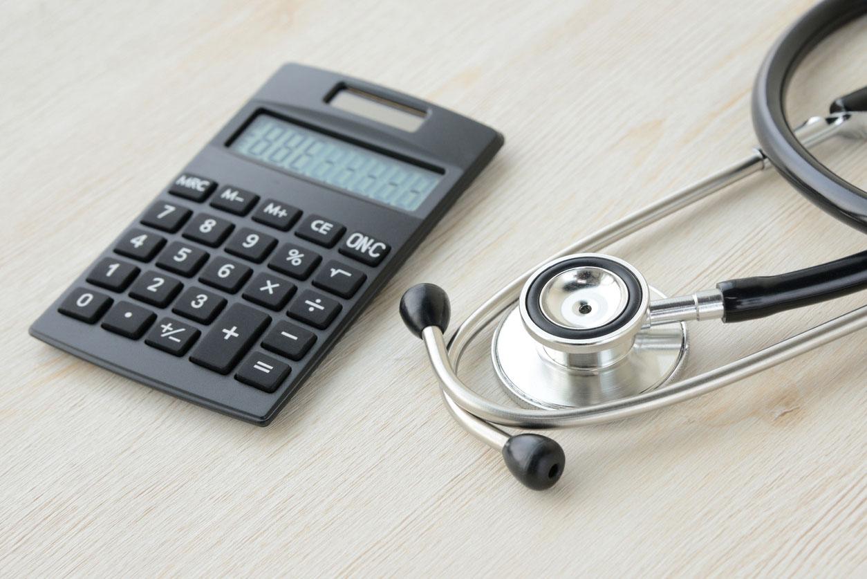 Calcul pour frais médicaux