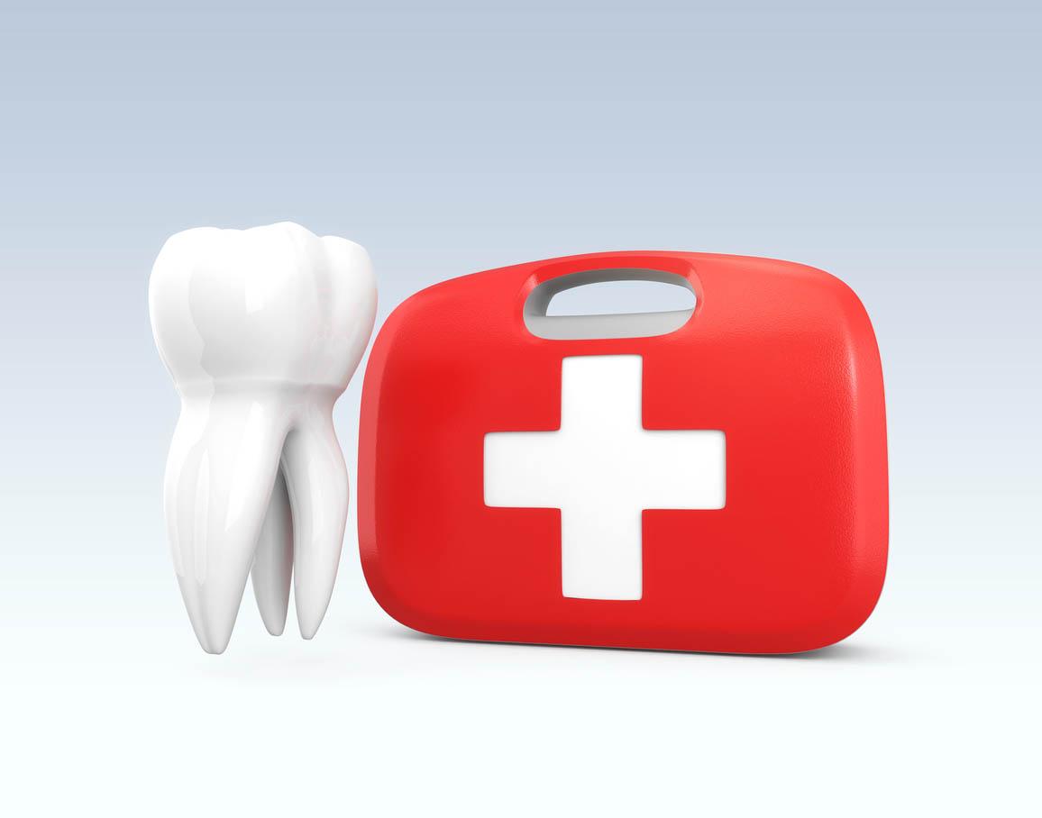 Dents et d'une trousse de premiers secours