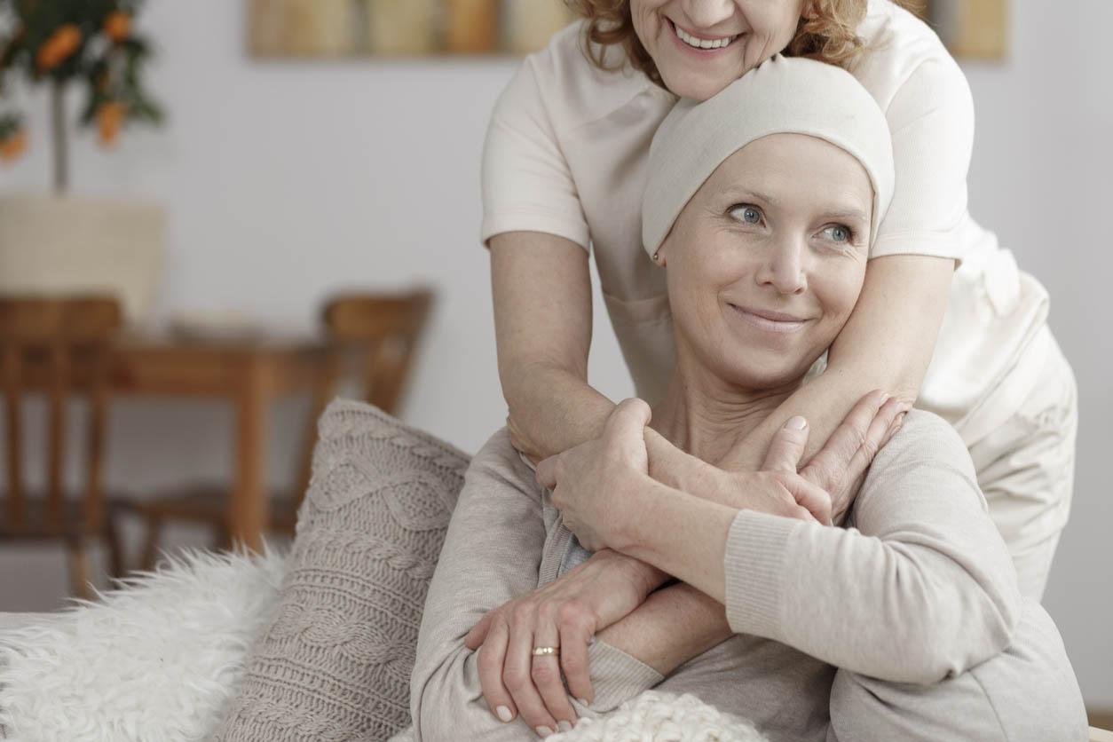 femme soutien cancer du sein