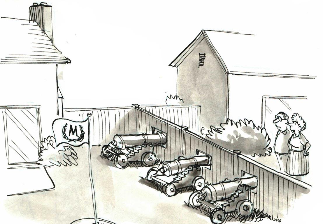 illustration conflits et litiges voisinage