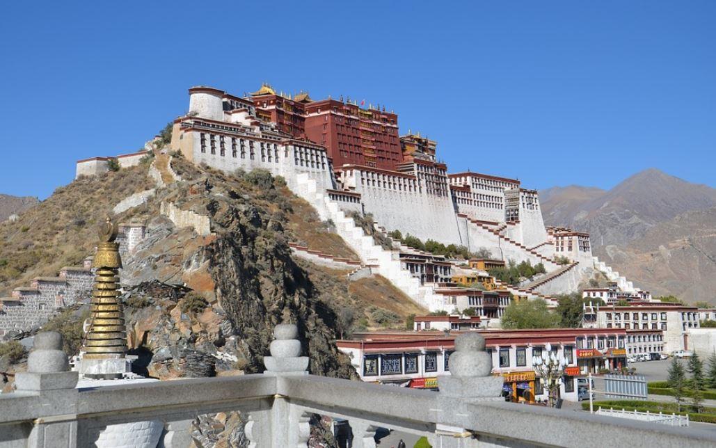 Palais Du Potala Tibet