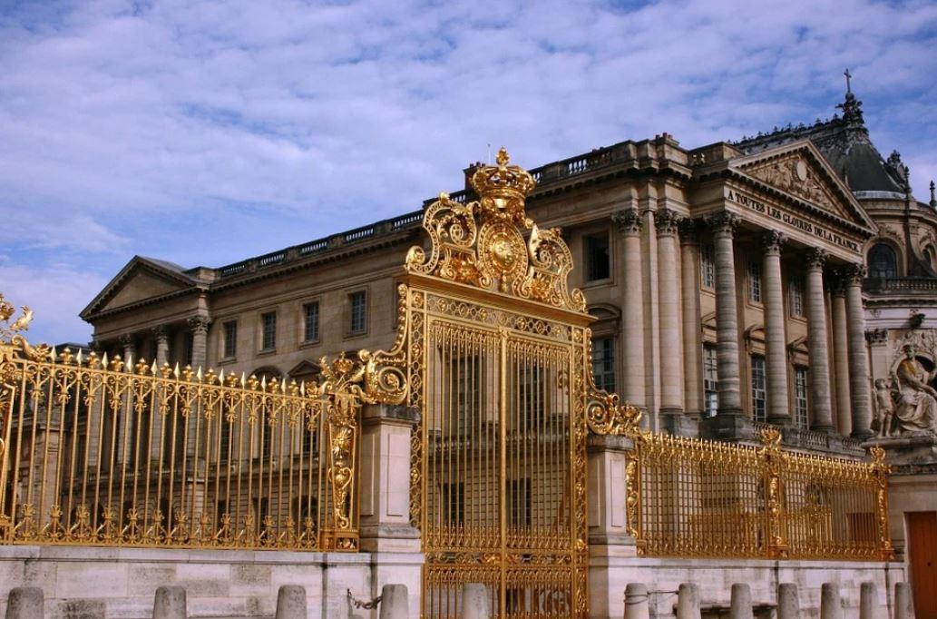 Entree Chateau De Versailles