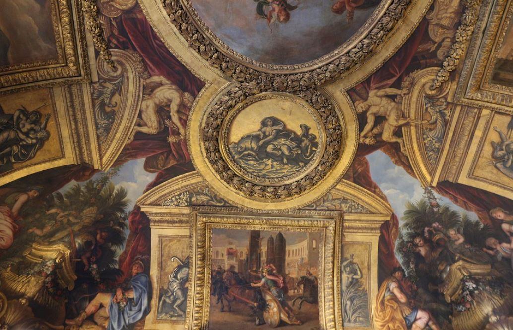 Fresque Chateau De Versailles