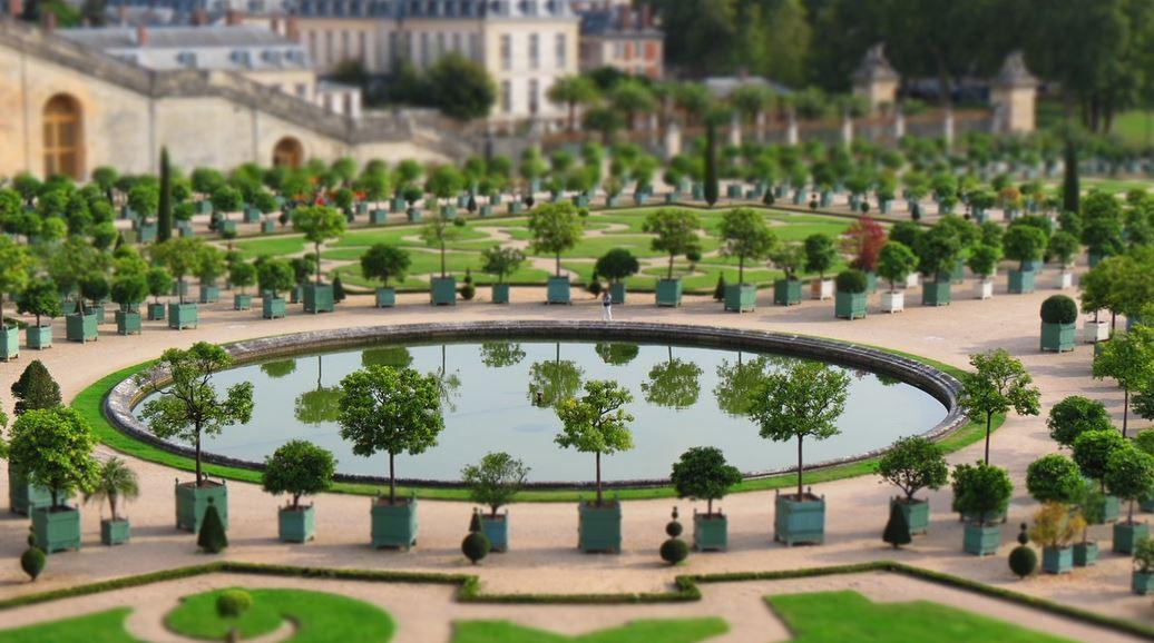 Jardin Chateau De Versailles