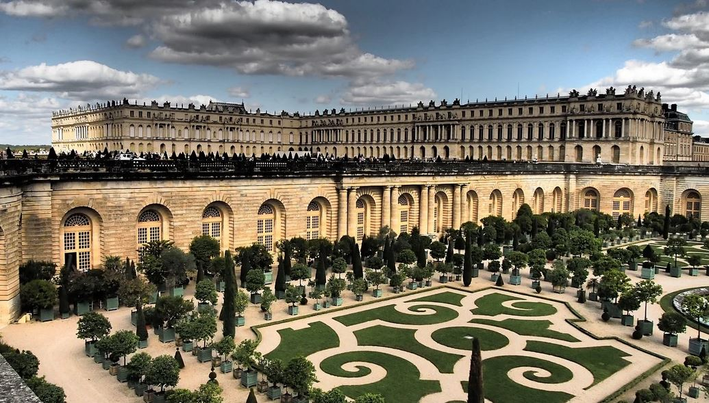 Vue Panoramique Chateau De Versailles