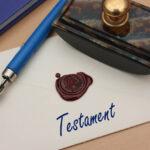 Testament Manuscrit Cacheté