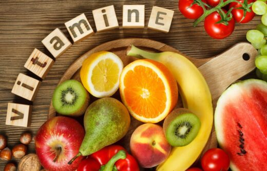 Illustration Vitamine