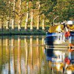 Canal Du Midi En Peniche