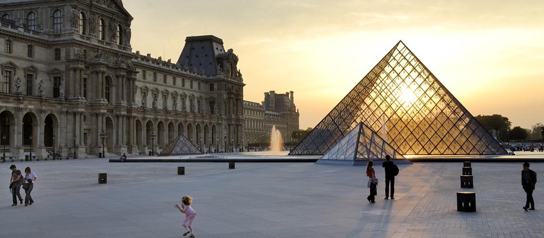 Louvre Piramide Paris