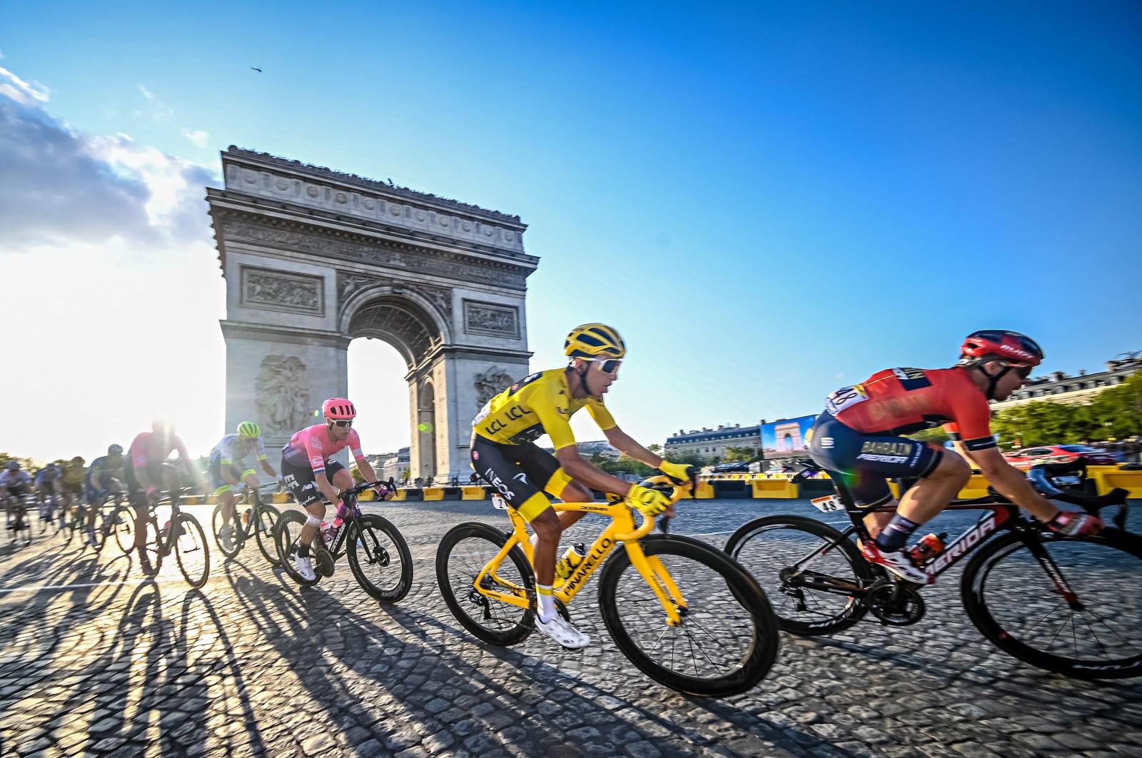 Tour De France Champs Elysees